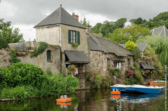 Itinerario y plan viaje Bretaña y Normandia coche Pontrieux