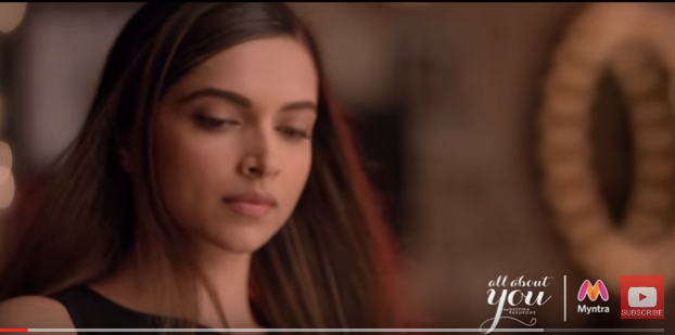 Picture/ Photo of Deepika Padukone and Myntra champion self-belief in their new brand campaign for All About You