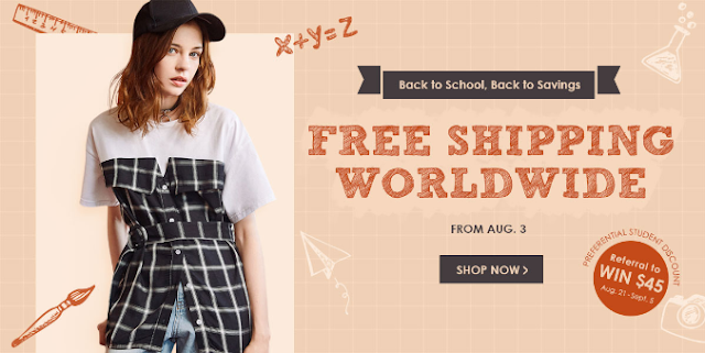 Back to school with Zaful