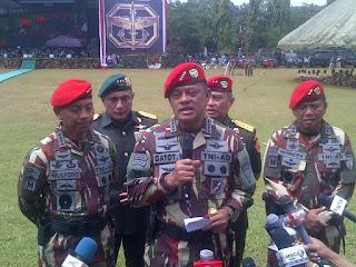 Prajurit TNI Siap Bantu Amankan Jalannya Demo 4 November 2016 Commando