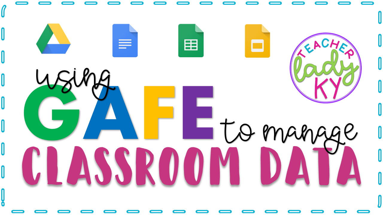 Use Google Apps for Education to manage classroom data.  Use Google Sheets to create a data sheet for collecting student data and format it to provide quick analysis. Use share function of Google sheets to collaborate with others, share with team members, administration, and parents.