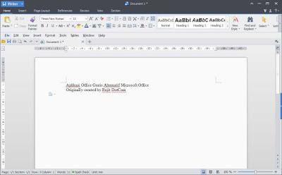 Aplikasi Gratis Alternatif Pengganti Microsoft Office