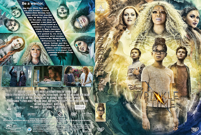 A Wrinkle in Time DVD Cover