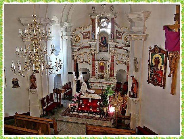 Wielka Sobota, ołtarz, grób Jezusa, ołtarz