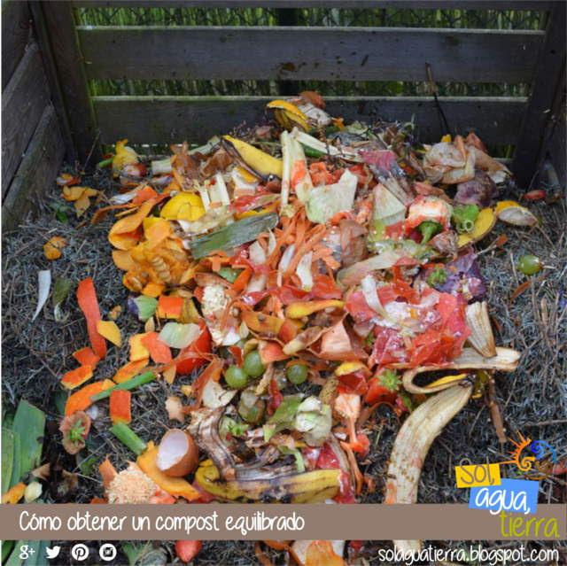 Compost: cómo hacer una mezcla equilibrada, que materiales es necesario añadir