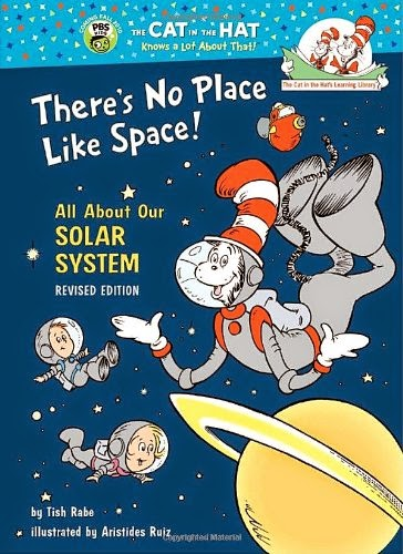 There's No Place Like Space, part of children's book review list about outer space