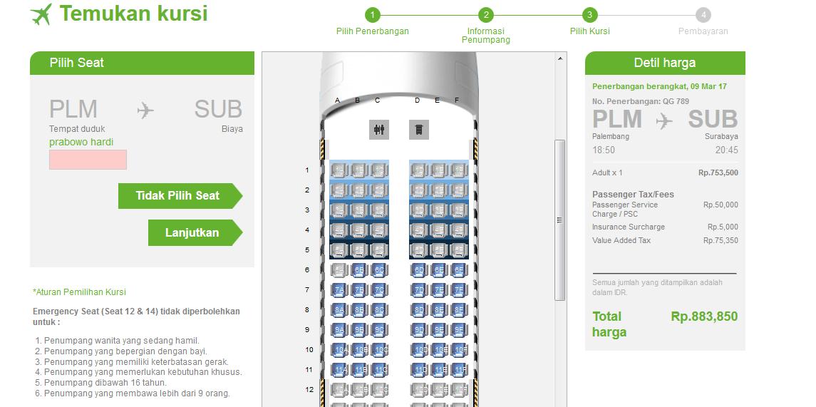 just personal free note cara beli tiket pesawat citilink online rh ekokurniady com no urut kursi pesawat citilink no urut kursi pesawat citilink