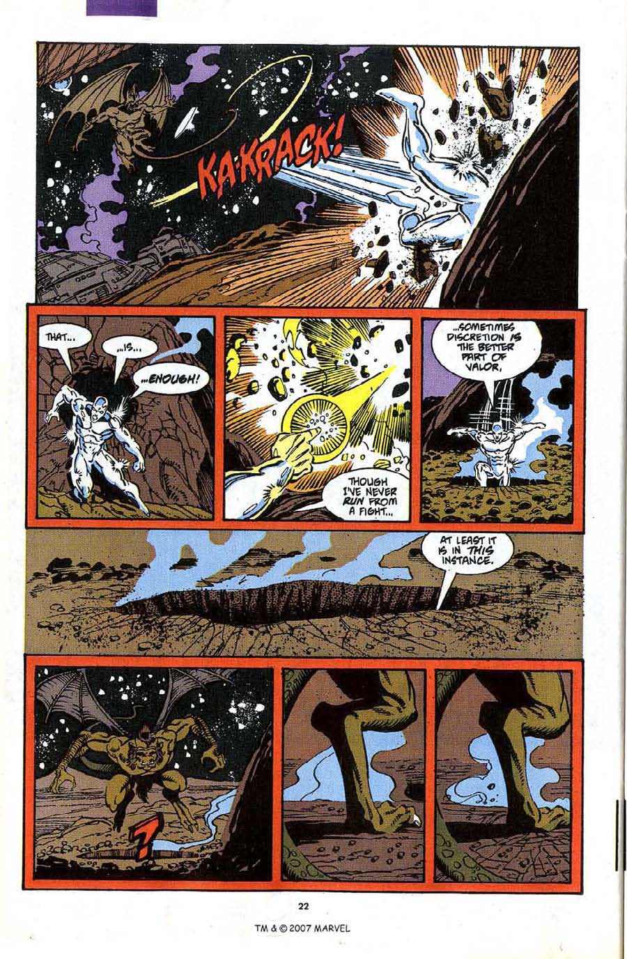 Read online Silver Surfer (1987) comic -  Issue #49 - 24