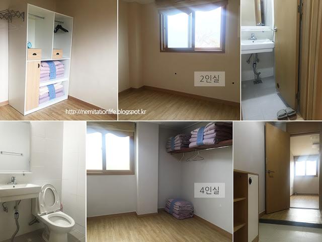 마음수련 메인센터 숙박시설 2인실