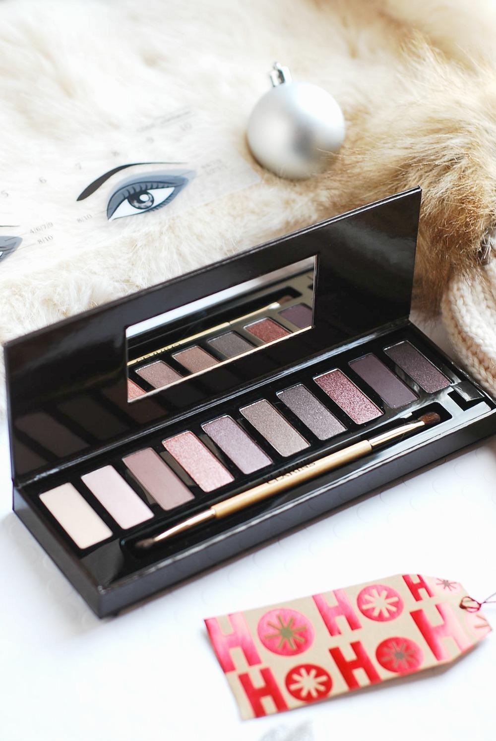 Clarins The Essentials Holiday 2016 Eyeshadow Palette & Swatches