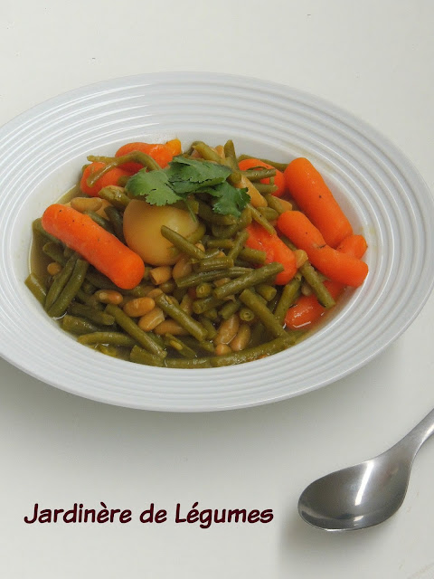 Jardinère de Légumes, French Mixed Vegetable Stew