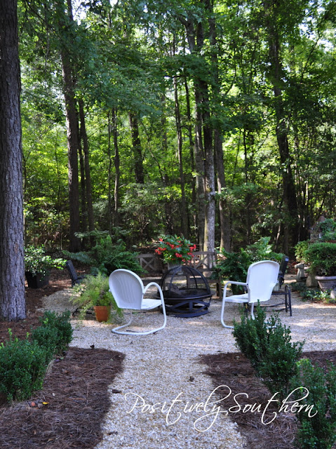 Positively Southern: Outdoor Fire Pit Inspiration on Fire Pit Inspiration  id=20081