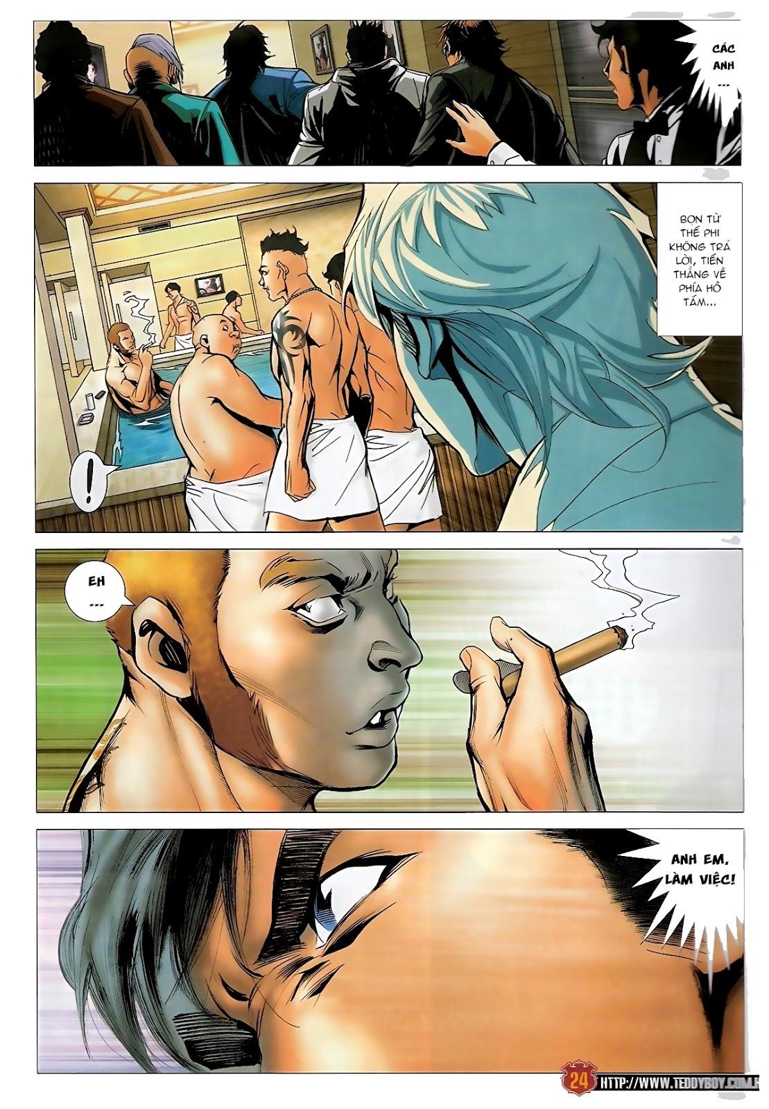Người Trong Giang Hồ - Chapter 1570: Tắm máu sauna - Pic 20