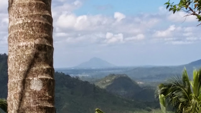 Mt. Maculot as seen from Mt. Kalisungan