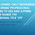 PRC allows licensed professional teachers to affix title 'LPT' as professional title