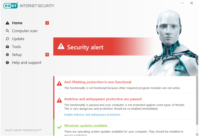 ESET Internet Security 14.1.19.0