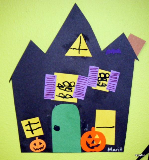 tippytoe crafts haunted houses. Black Bedroom Furniture Sets. Home Design Ideas