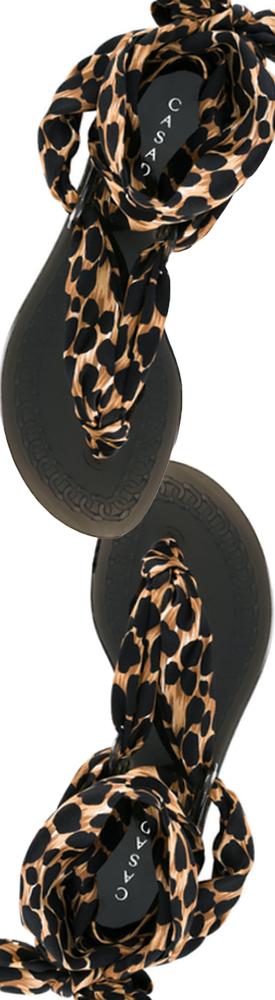 CASADEI Leopard-Print Sandals