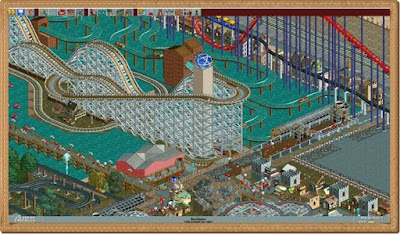 Roller Coaster Tycoon 1 PC Games Gameplay