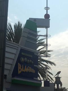 Buzz Lightyear Astro Blasters Sign