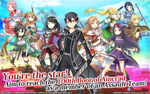 Sword Art Online: Integral Factor Apk Free on Android Game Download