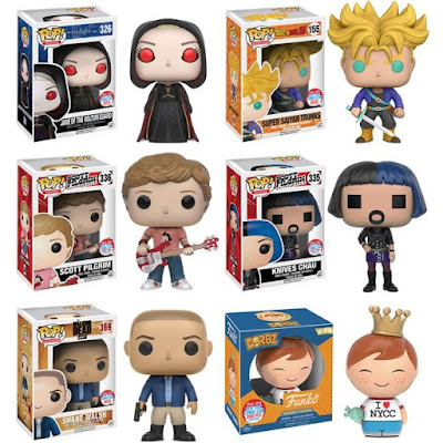 Funko's New York Comic Con 2016 Exclusives Wave 1