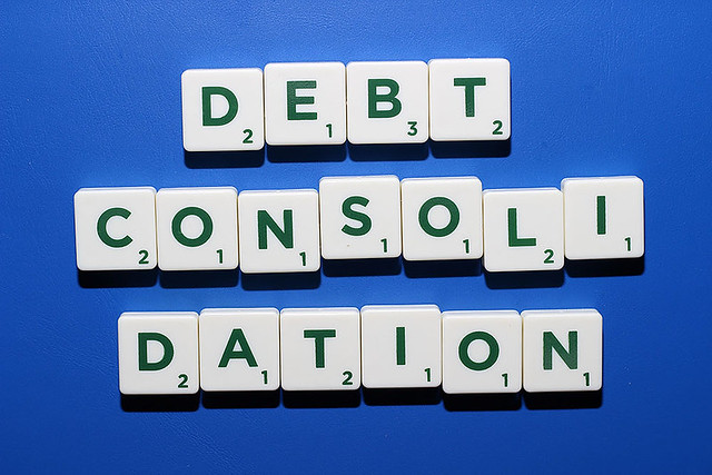 Negative effects of debt consolidation . ( step by step ).