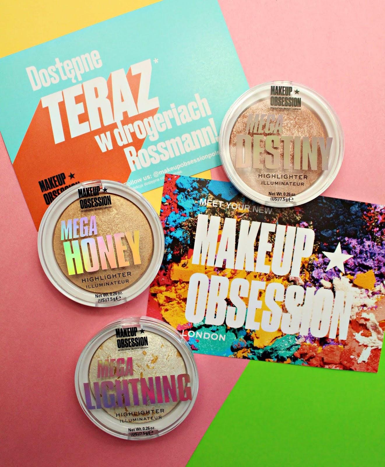 Makeup Obsession London Rozświetlacze w kamieniu