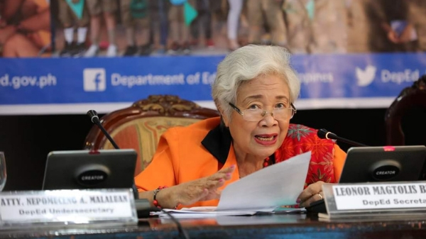 Briones speaks up on teachers' plea to make poll honoraria tax-free