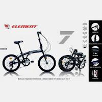 20 element e-cosmo folding bike
