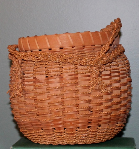 Indian sewing basket