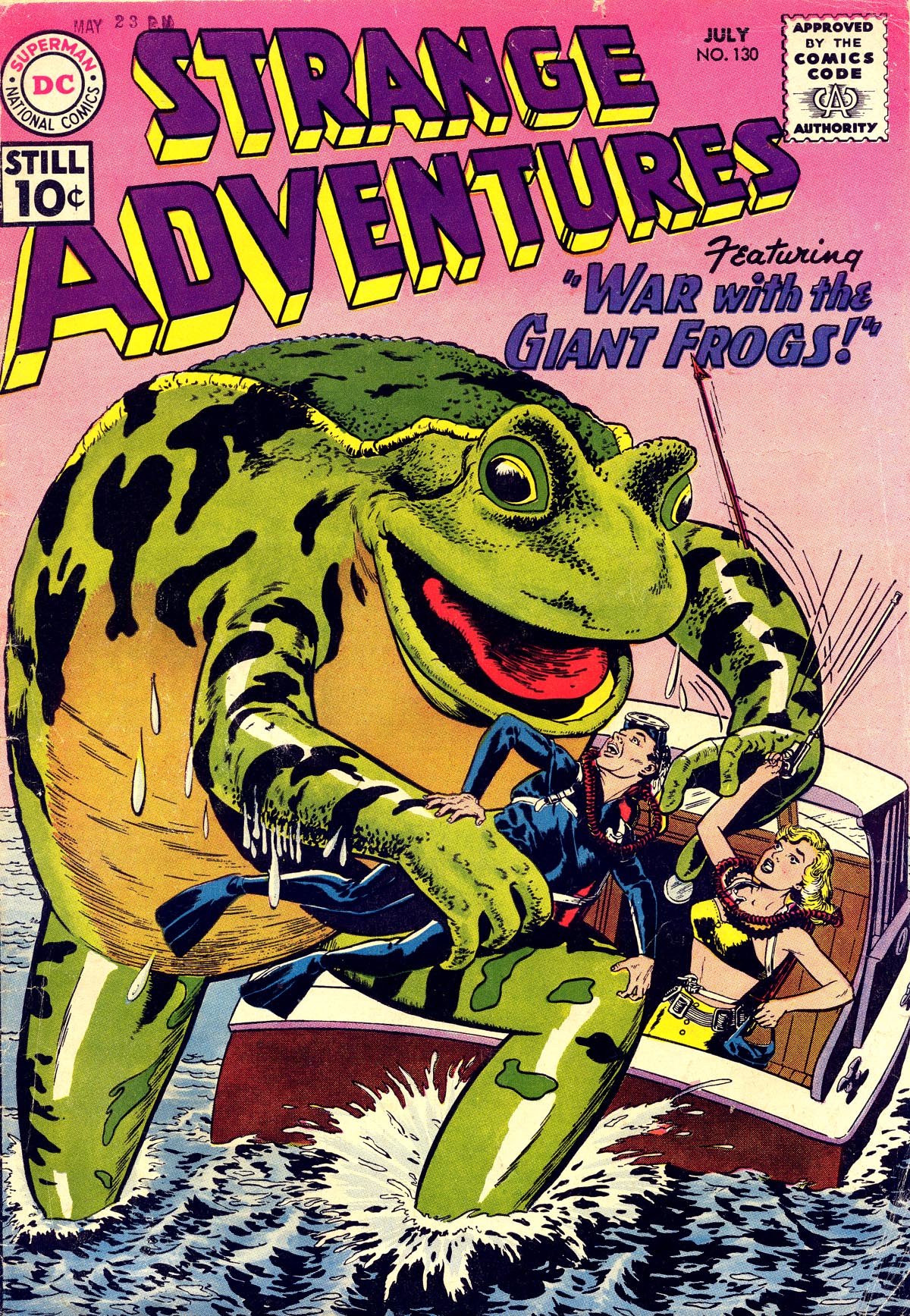Strange Adventures (1950) issue 130 - Page 1