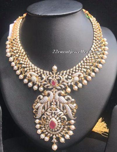 10 Lakhs Grand Diamond Set by Manjula Rao