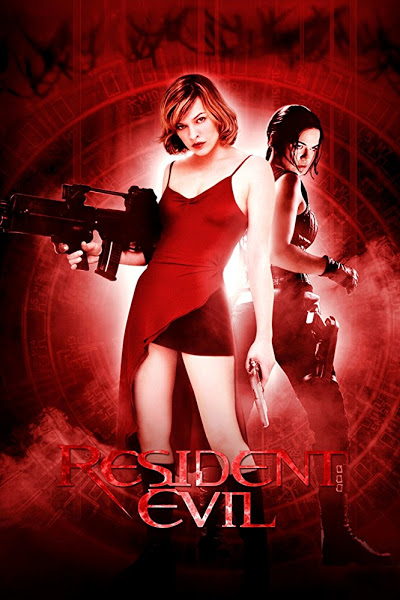 Poster of Resident Evil 2002 Dual Audio 720p BluRay Hindi DD5.1