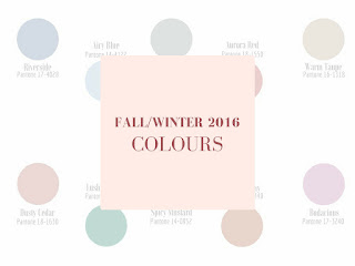 FALL/WINTER 2016 - Colours