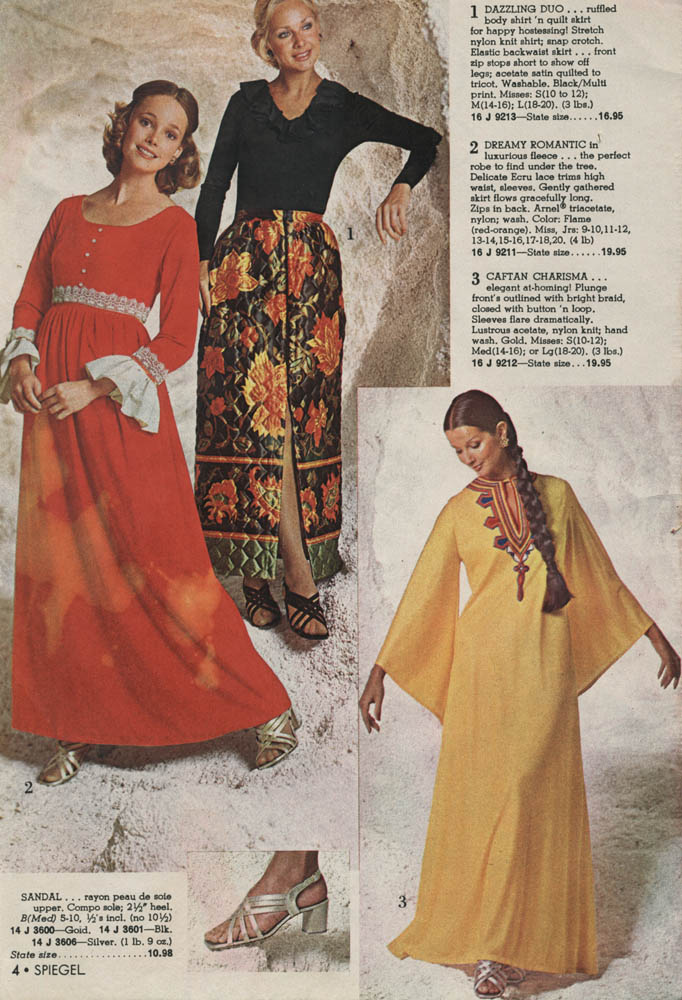 Selected Pages From The 1972 Spiegel Christmas Catalog