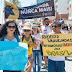 Salvador: Grupo pede fim da vaquejada em protesto no Farol da Barra