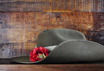anzac day celebration hat