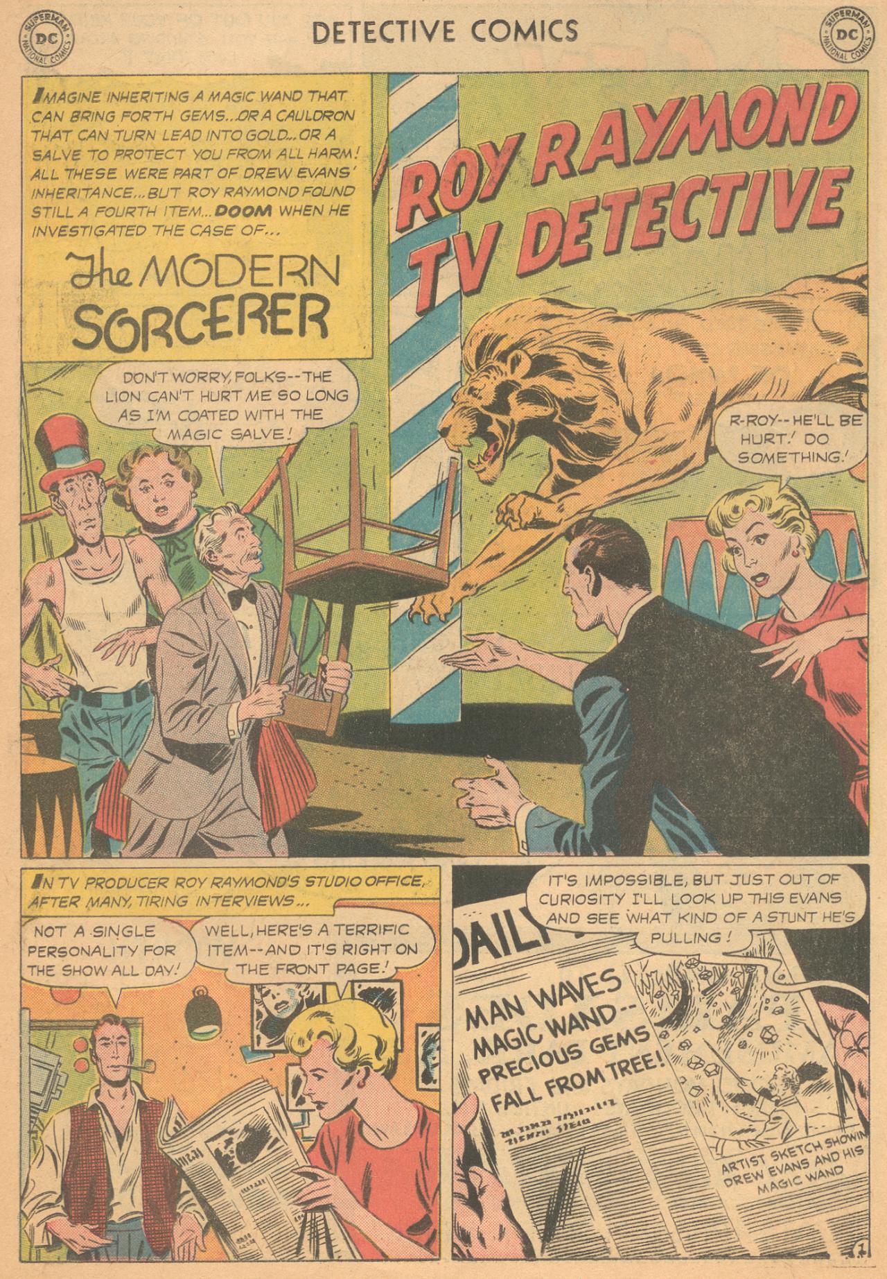 Read online Detective Comics (1937) comic -  Issue #261 - 18