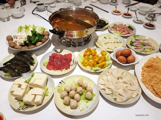 'Hot Pot To Share' @ Dynasty Restaurant, Renaissance Kuala Lumpur Hotel