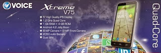 Voice Xtreme V75 price pakistan