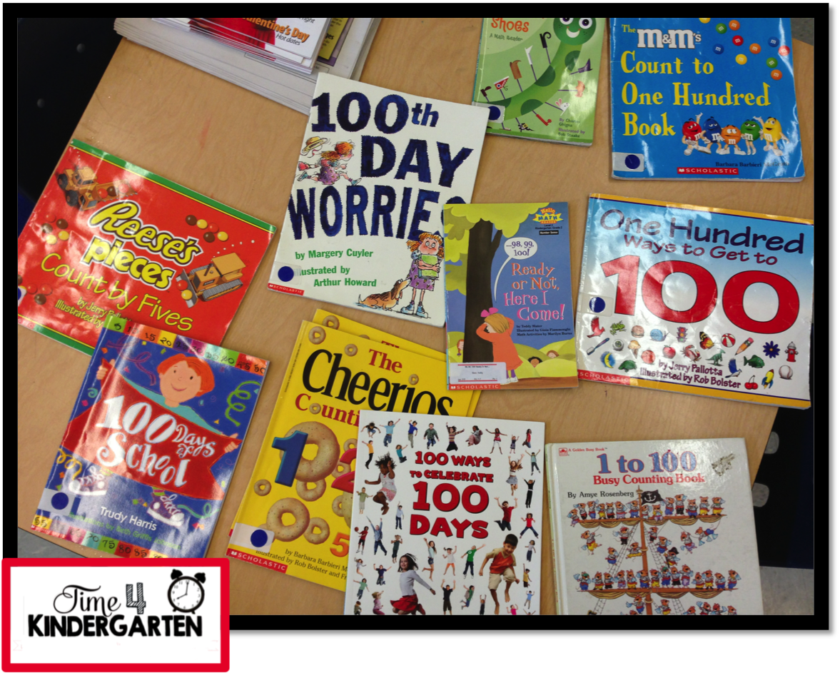 100th day of school, 100th day of school books