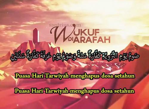 Niat Puasa Sunnah Arafah Dan Tarwiyah