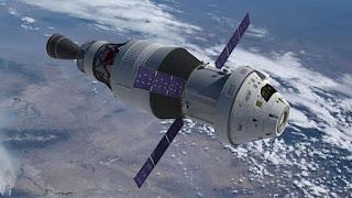 Η διαστημική κάψουλα Orion