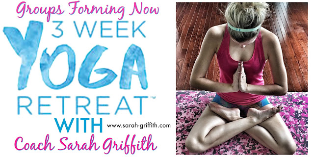 3 week yoga retreat, what is the 3 week yoga retreat, 3 week yoga retreat challenge, three week yoga retreat, sarah griffith, top beachbody coach,beginner yoga, yoga, yoga poses for beginners