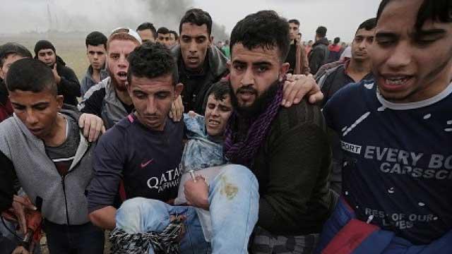 Ditembak Tentara Israel, 18 Warga Palestina Terluka