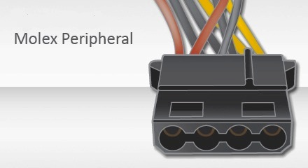 Conector Molex Peripheral