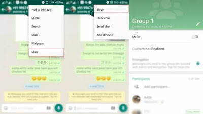 mute notification on whatsapp