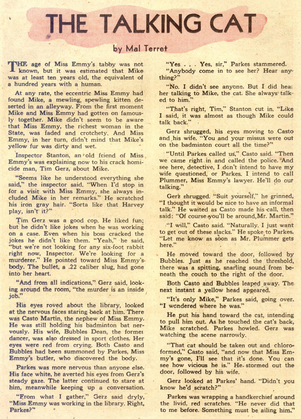 Read online Detective Comics (1937) comic -  Issue #122 - 35