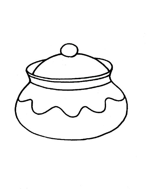 Gambar Mewarnai Peralatan Dapur - 15